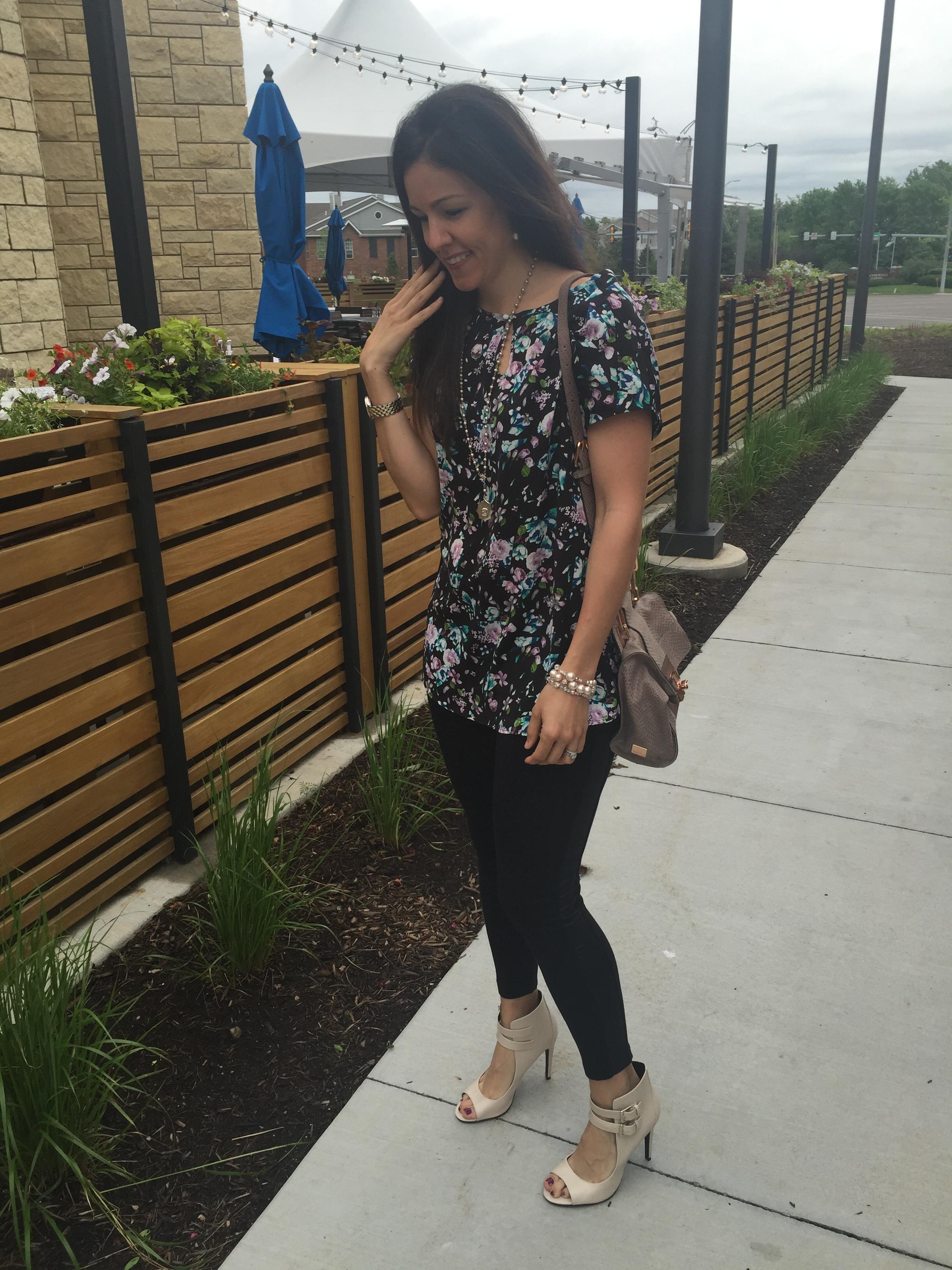 Floral Tunic + Leggings
