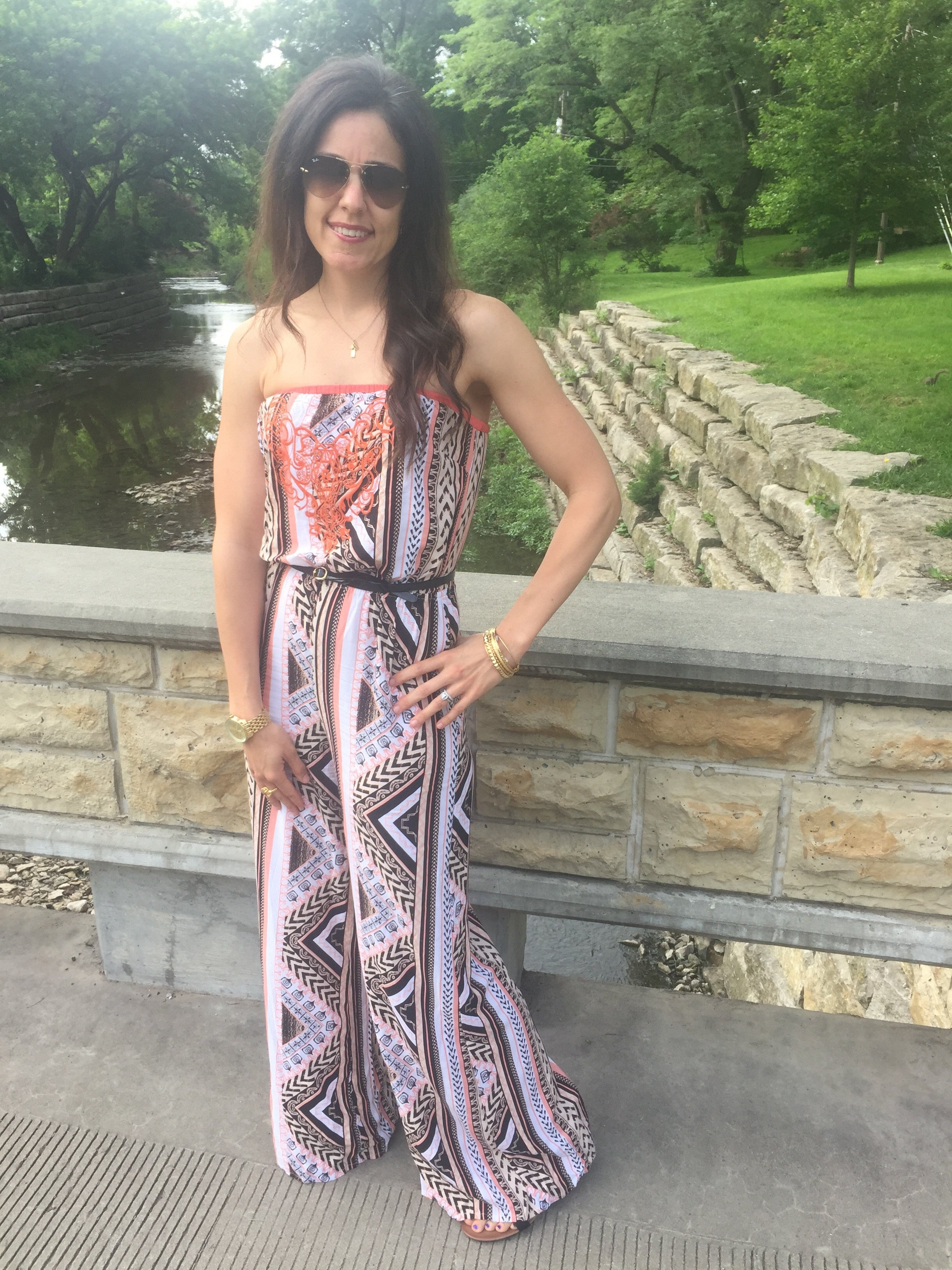 How to wear a print jumpsuit | How to style a jumpsuit | Summer outfit ideas | Vacation looks | Outfits for summer  summer style