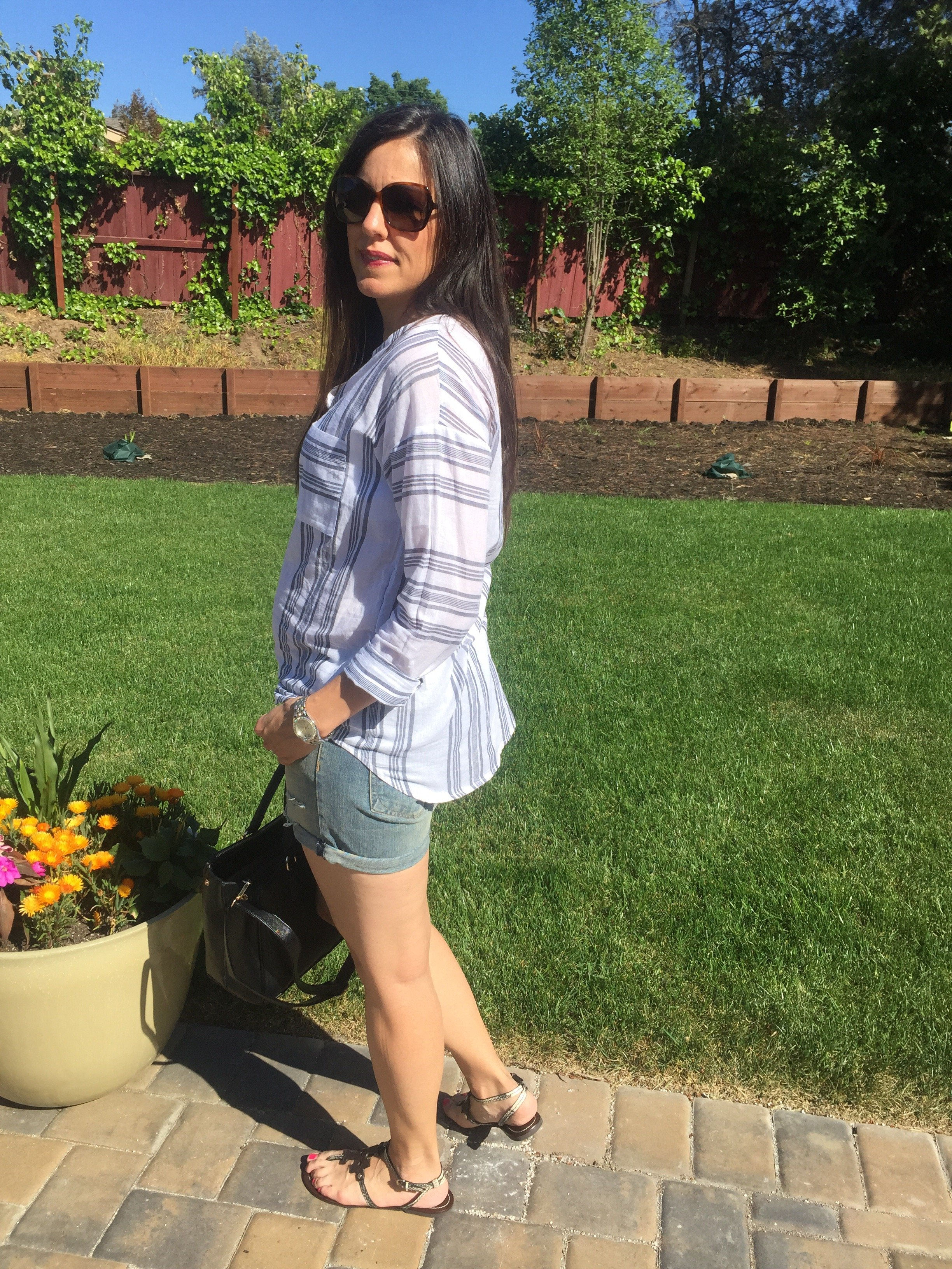 How to style denim shorts | spring style ideas | summer style ideas | spring fashion tips | warm weather fashion