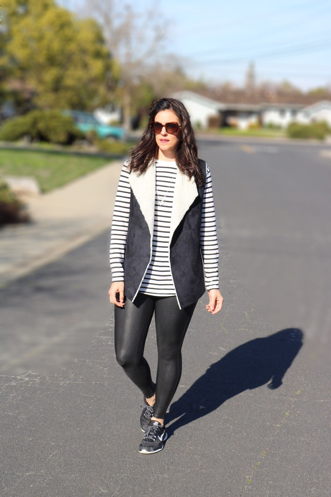 Stripes + Vest