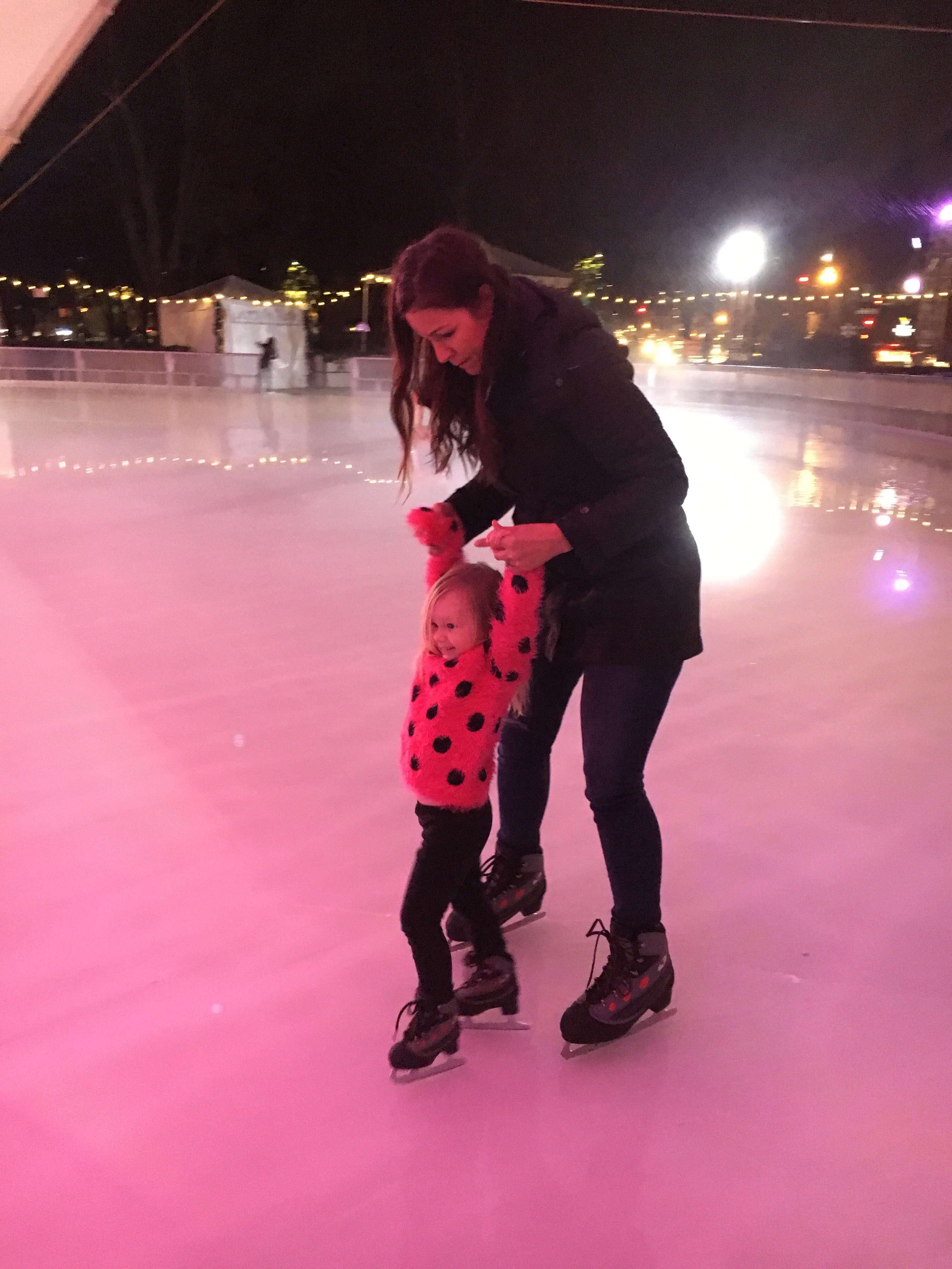 Winter kids activity | ice skating with kids tips | toddler activities | things to do in winter | family life