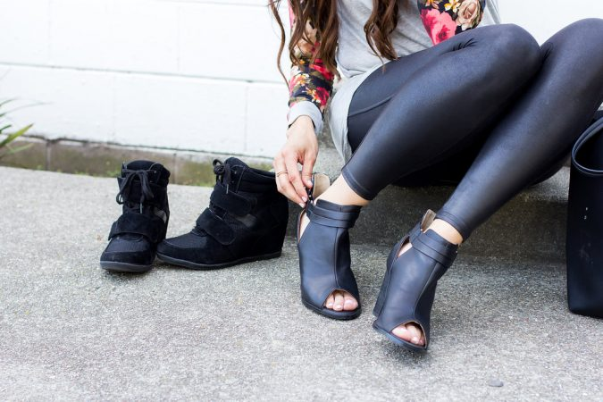 Five Ways To Wear Velvet Leggings