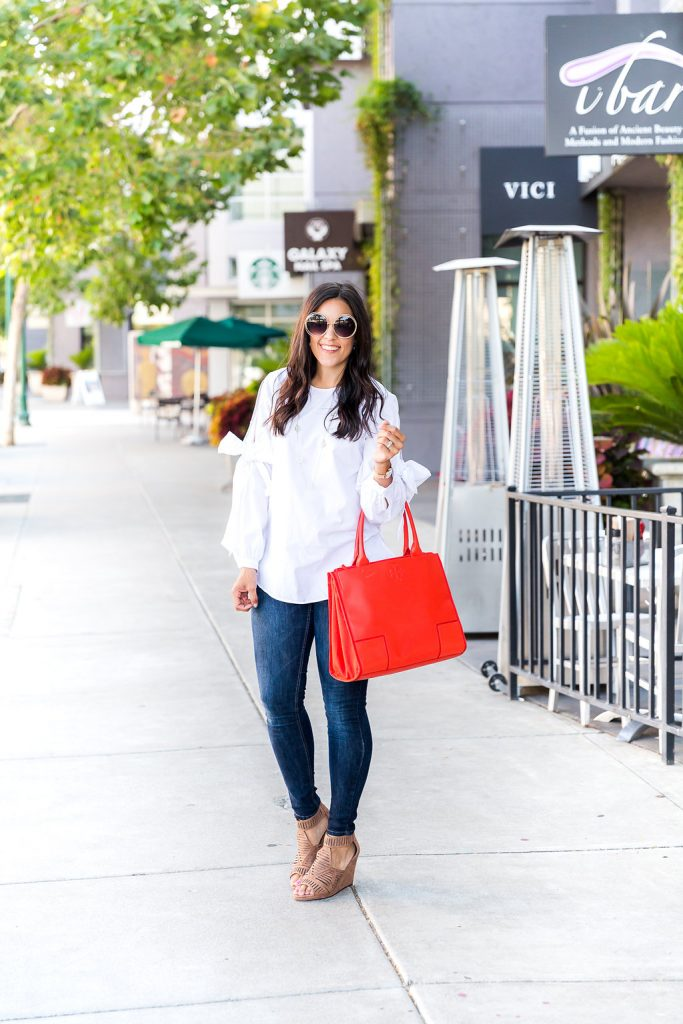 Styling a classic white shirt