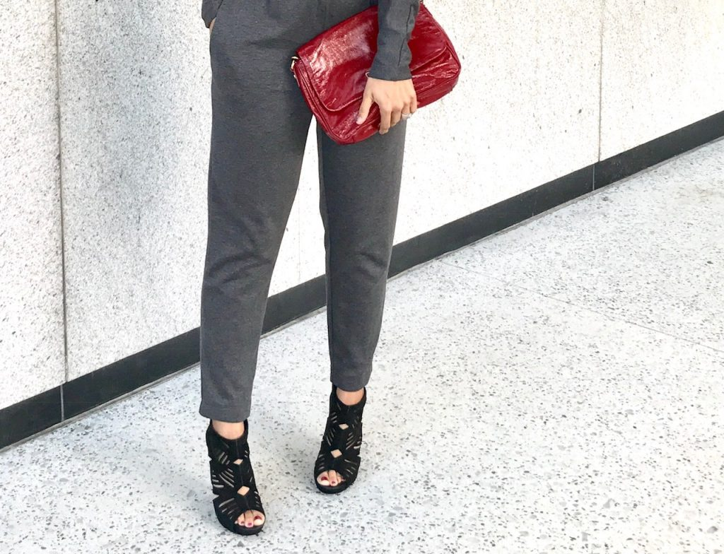 How to Style Grey Jumpsuits