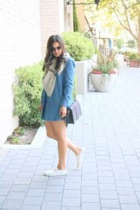 Denim Dress + 4 Styling Ideas To Maximize Your Denim Dress