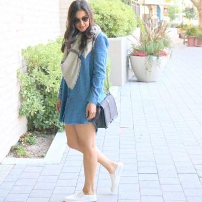 Denim Dress + 4 Styling Ideas To Maximize Your Denim Dress