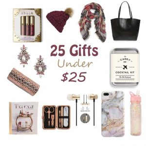 Gift Guide Series: 25 Gifts Under $25