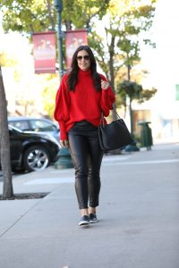 Styling A Red Sweater: Part 1