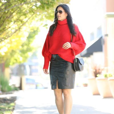 Styling A Red: Sweater Part 2
