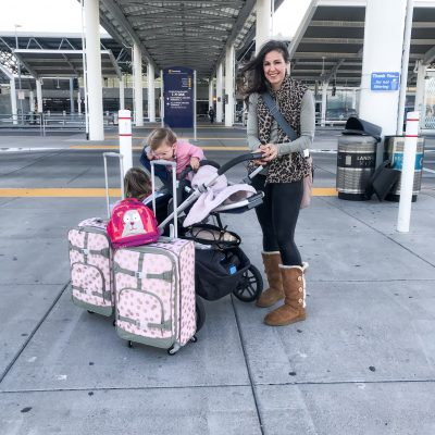 Tips For Traveling with Toddlers Solo