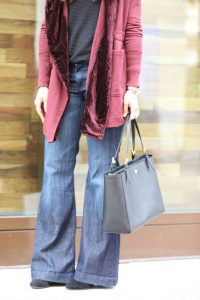 Tips For Wearing Flared Jeans